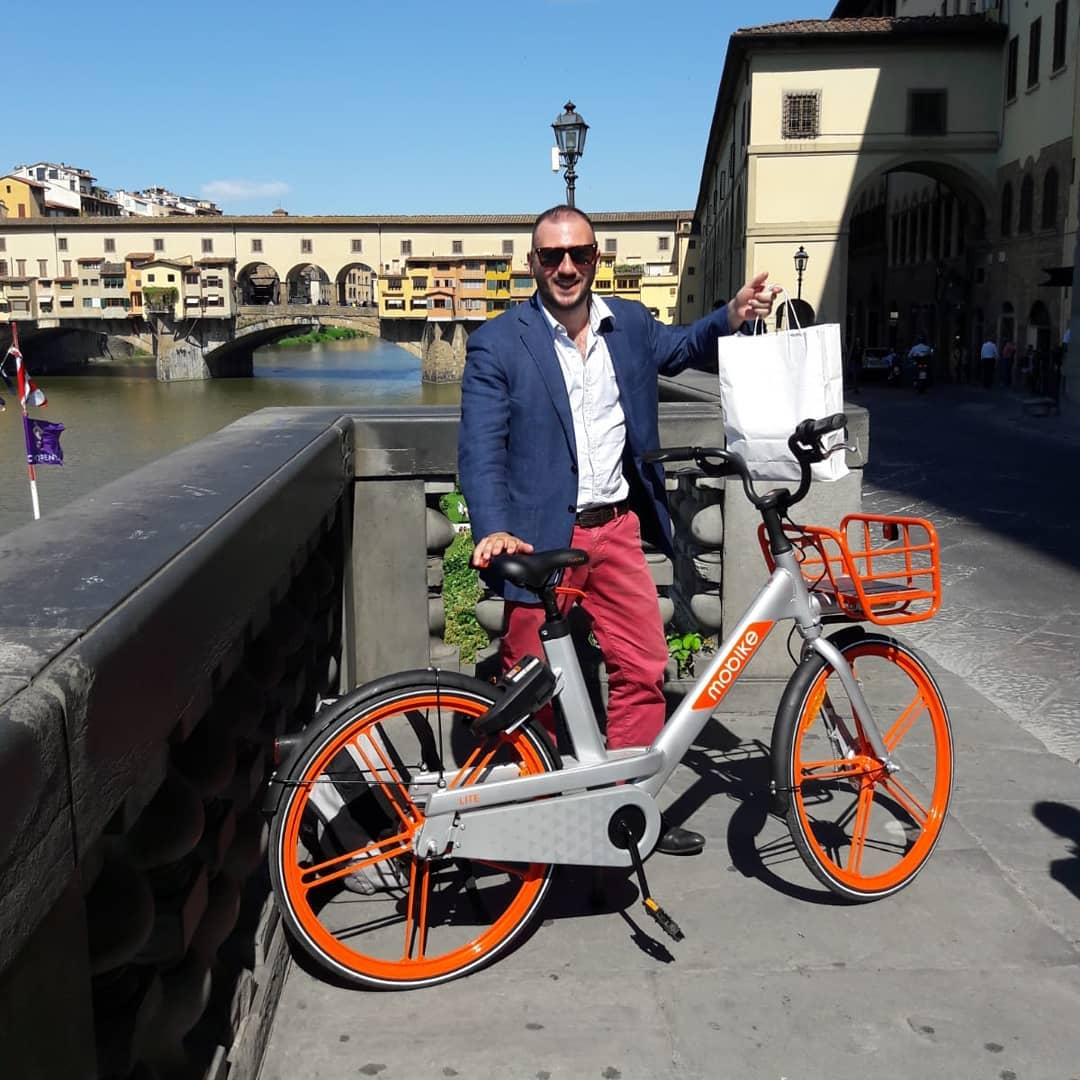 Guida a Firenze - Bike sharing e I love Guido